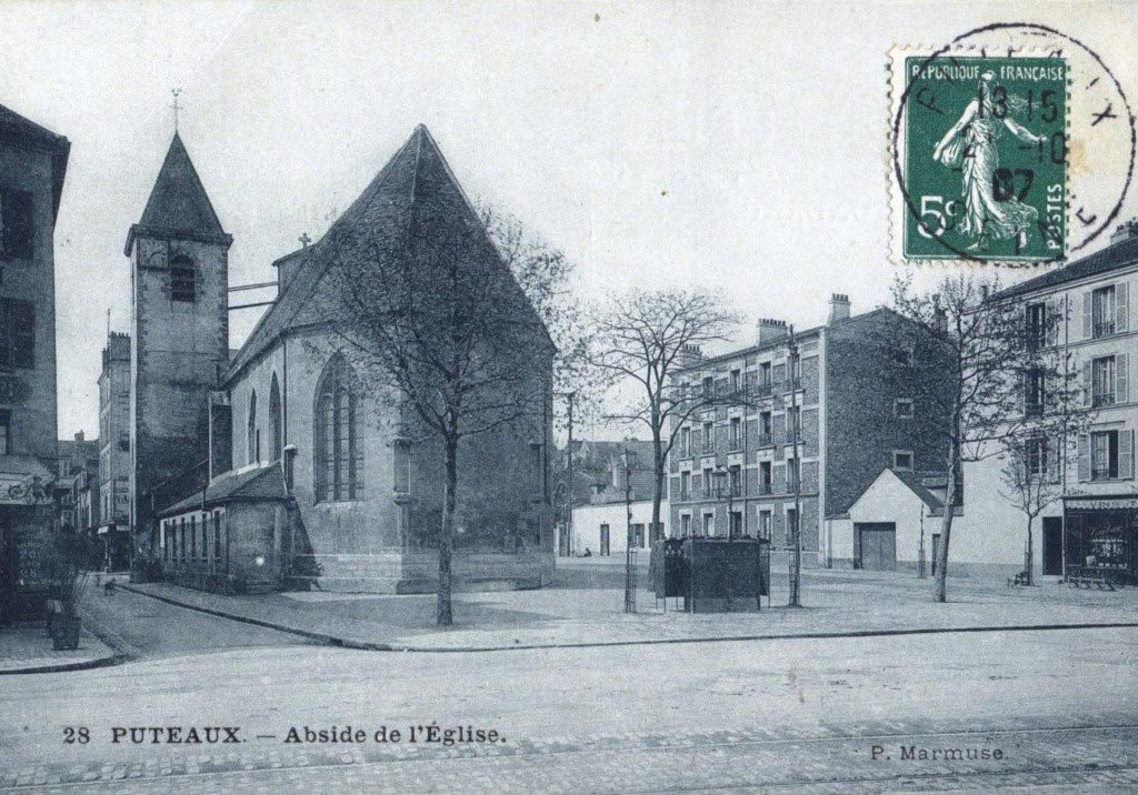 Eglise Notre-Dame-de-Pitié, début du XXe siècle, AMP, 2Fi372.