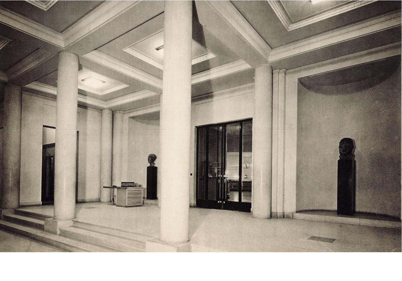 Hall d'entrée de l'Hôtel de Ville de Puteaux