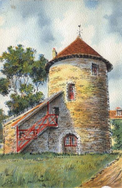 Moulin de Chantecoq, fin du XXe siècle, AMP, 2Fi514.