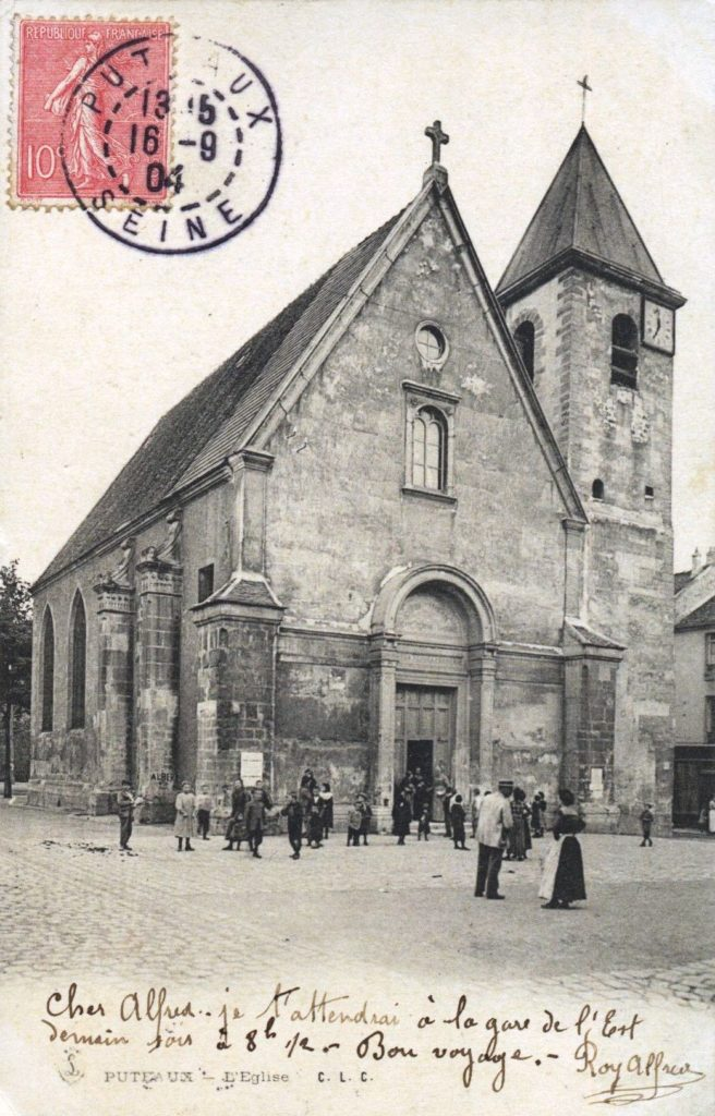 Eglise Notre-Dame-de-Pitié, début du XXe siècle, AMP, 2Fi365.